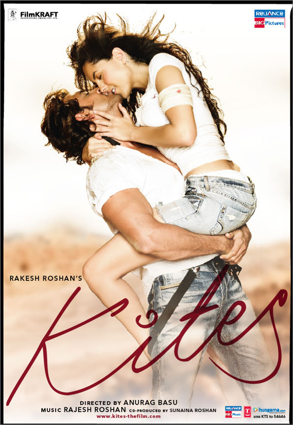 Kites (2010) Hindi 350MB BluRay 480p x264 M-Subs
