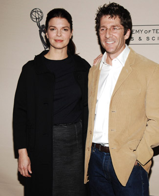 Jeanne Tripplehorn with handsome, Husband Leland Orser