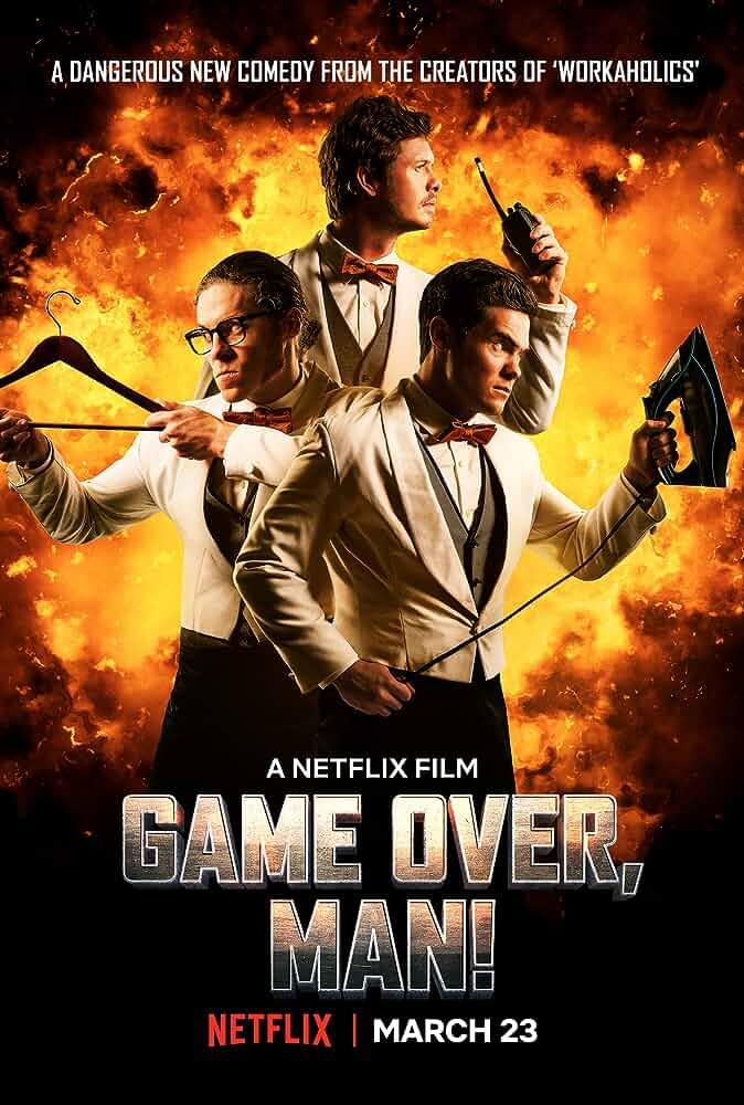 Game Over Man 2018 Full English Movie 720p WEB-DL DD 5.1 x264 ESub