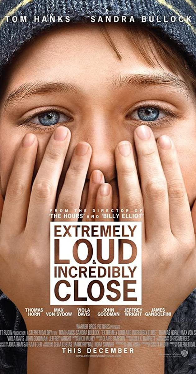 Image result for Extremely Loud and Incredibly Close