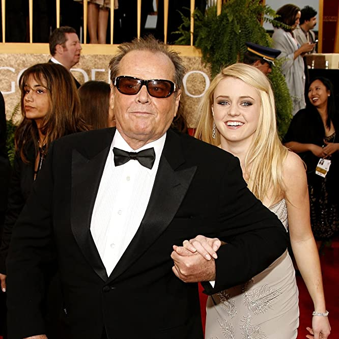 Jack Nicholson and Lorraine Nicholson at an event for The 64th Annual Golden Globe Awards (2007)