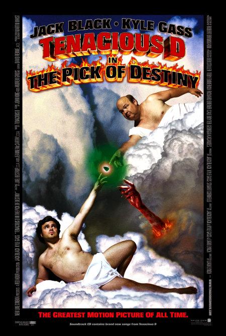 Tenacious D in The Pick of Destiny (2006) - IMDb Tenacious D Pick Of Destiny Poster