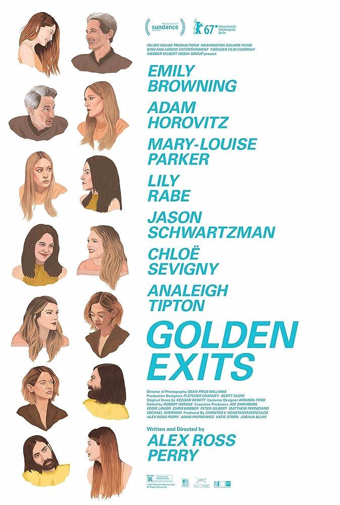 فيلم Golden Exits 2017 مترجم