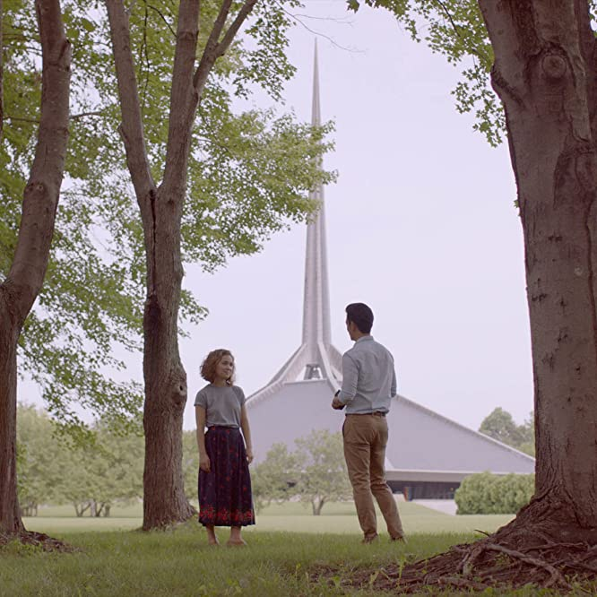 John Cho and Haley Lu Richardson in Columbus (2017)
