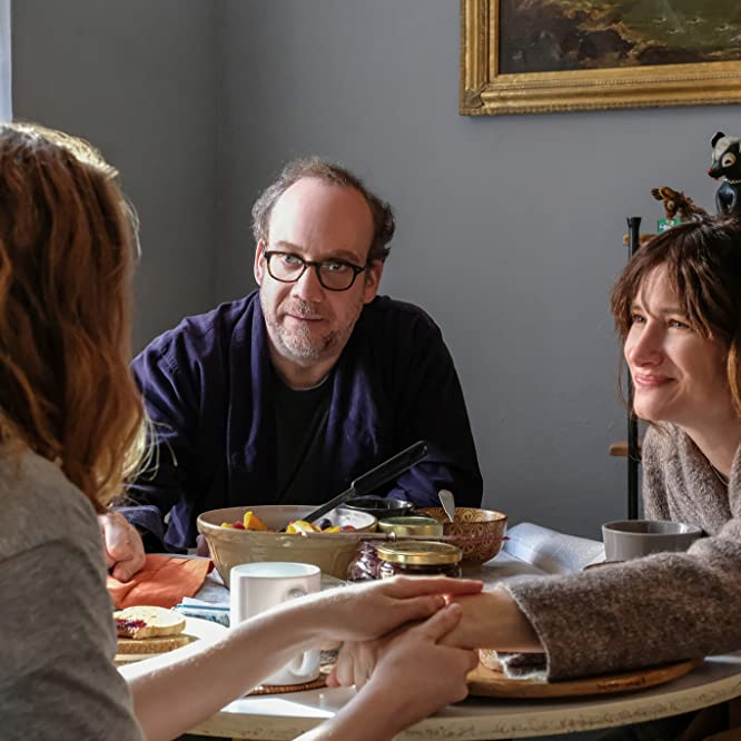 Paul Giamatti, Kathryn Hahn, and Kayli Carter in Private Life (2018)