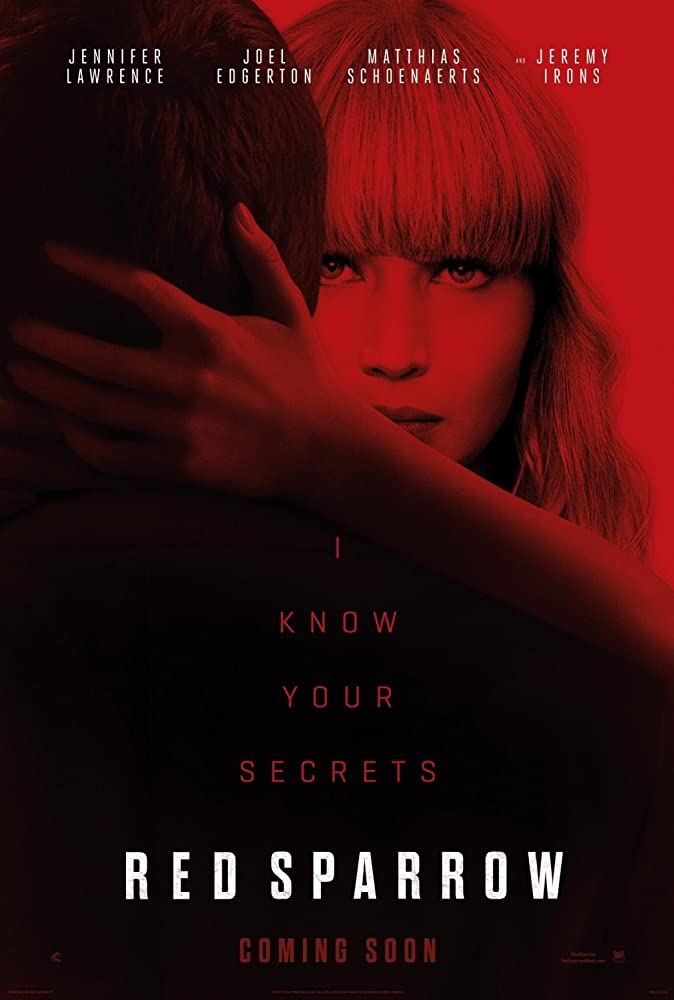 Red Sparrow 2018 HDCAM  720p MP3 HQMic - Makintos13