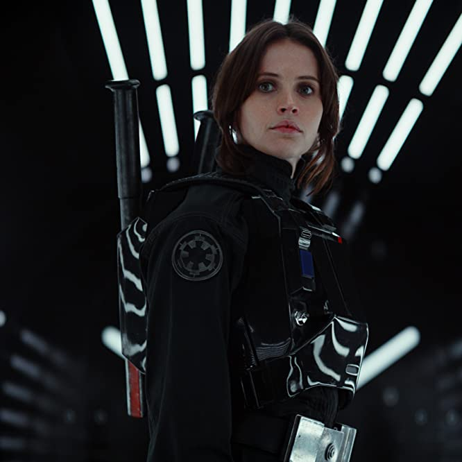 Felicity Jones in Rogue One: A Star Wars Story (2016)