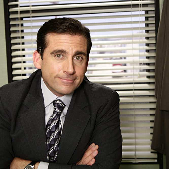 Steve Carell in The Office (2005)