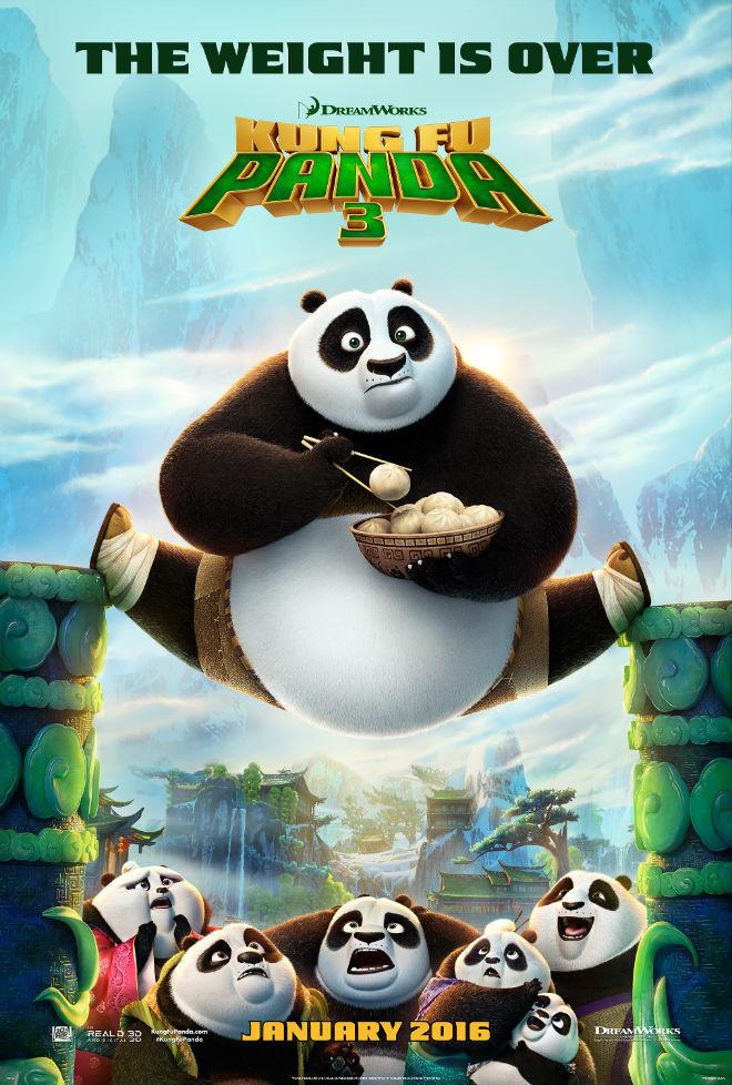 Kung Fu Panda 3 2016 Hindi Dual Audio 450MB BluRay 720p HEVC x265