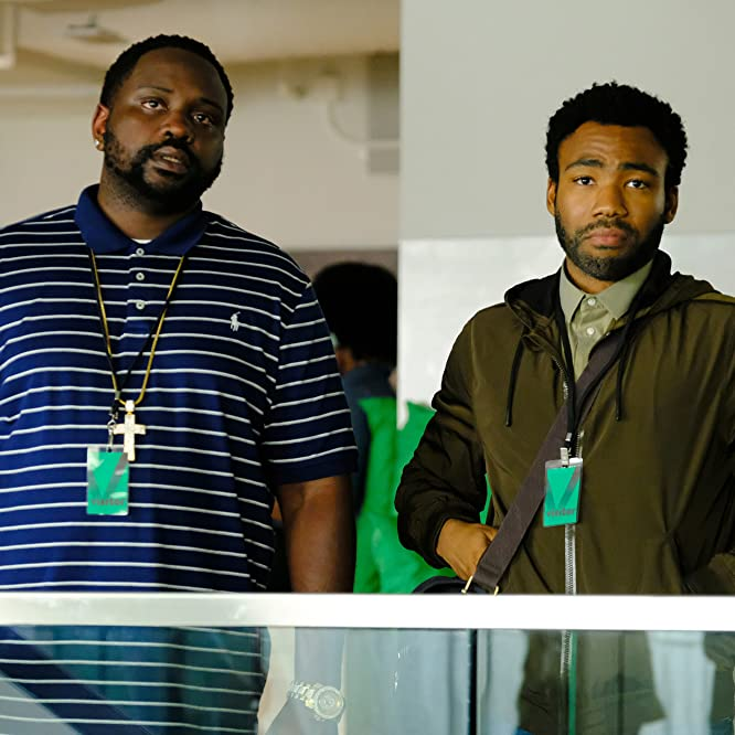 Brian Tyree and Donald Glover in Atlanta (2016)