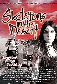 Skeletons in the Desert Poster