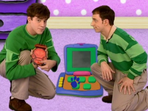 """""""Blue's Clues"""" Steve Goes to College (TV Episode 2002) - IMDb"""