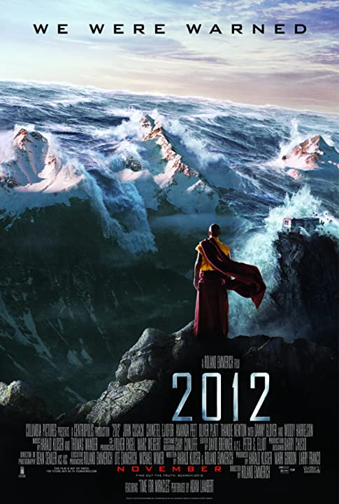 Poster Of 2012 : 2009 Full Movie Hindi Dubbed Free Download Watch Online At movies365.in