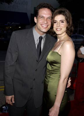 Diedrich Bader with gracious, Wife Dulcy Rogers