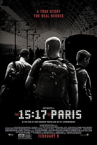 Poster Film The 15:17 to Paris