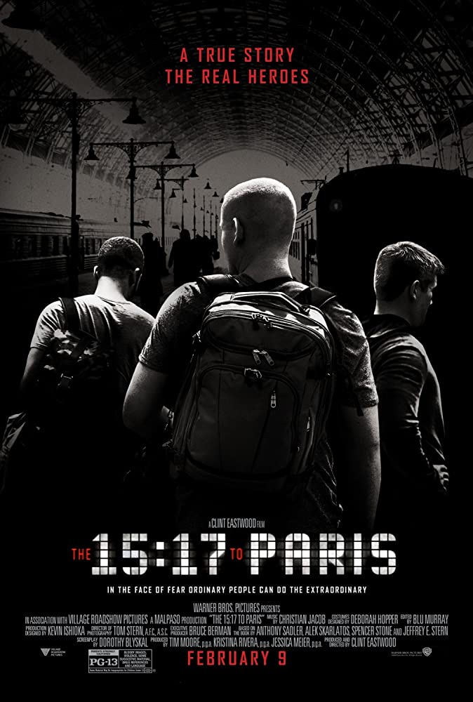 The 15:17 to Paris 2018 English Esub Movie 320MB