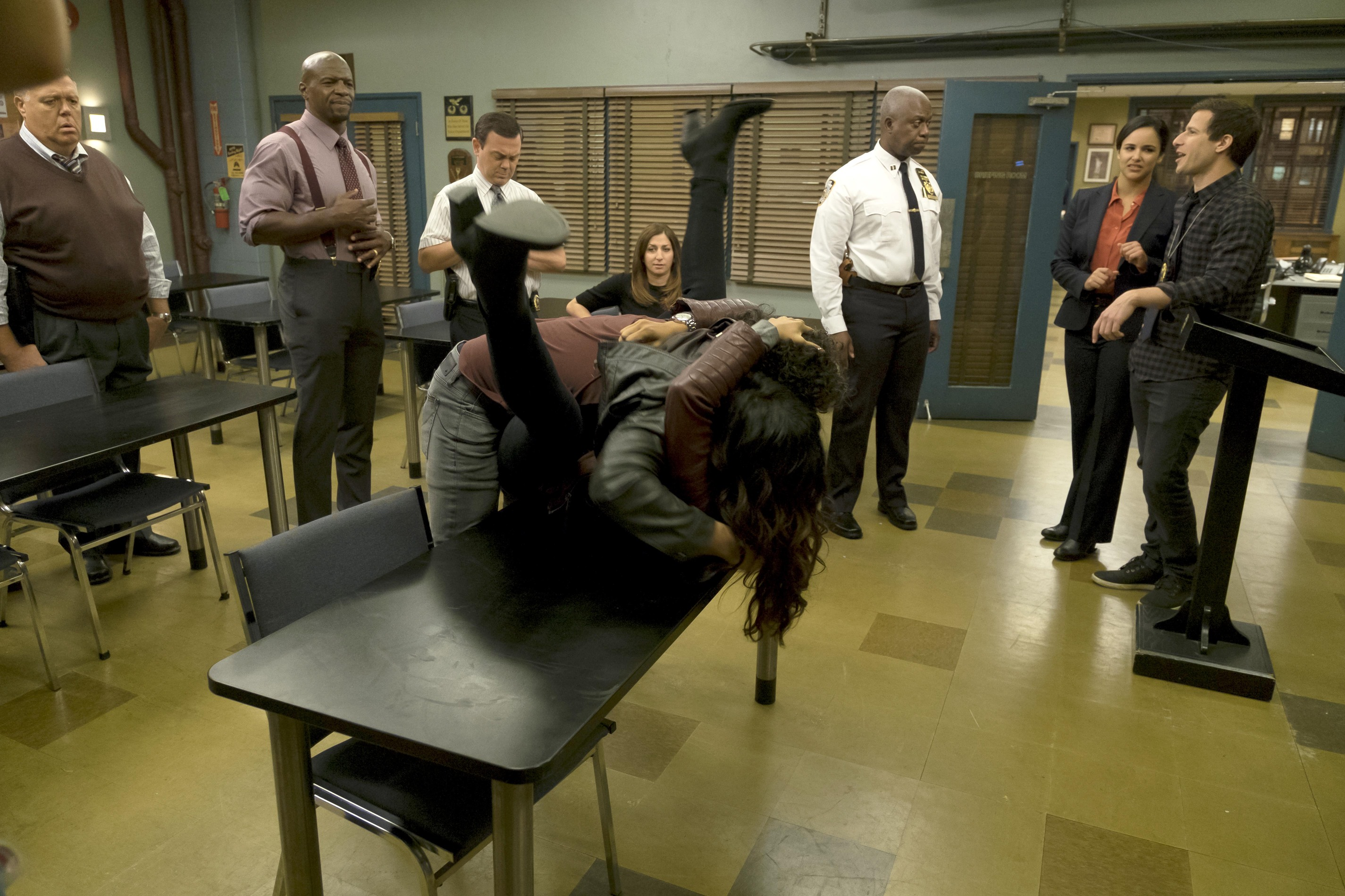 Brooklyn Nine-Nine: Mr. Santiago | Season 4 | Episode 7