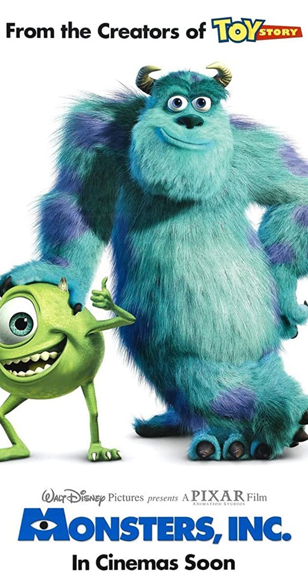 Monsters Inc 2001 Imdb