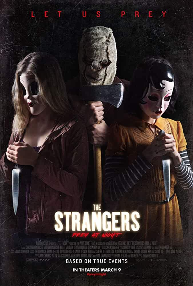 The Strangers Prey at Night (2018) Movie Download 480p 300mb