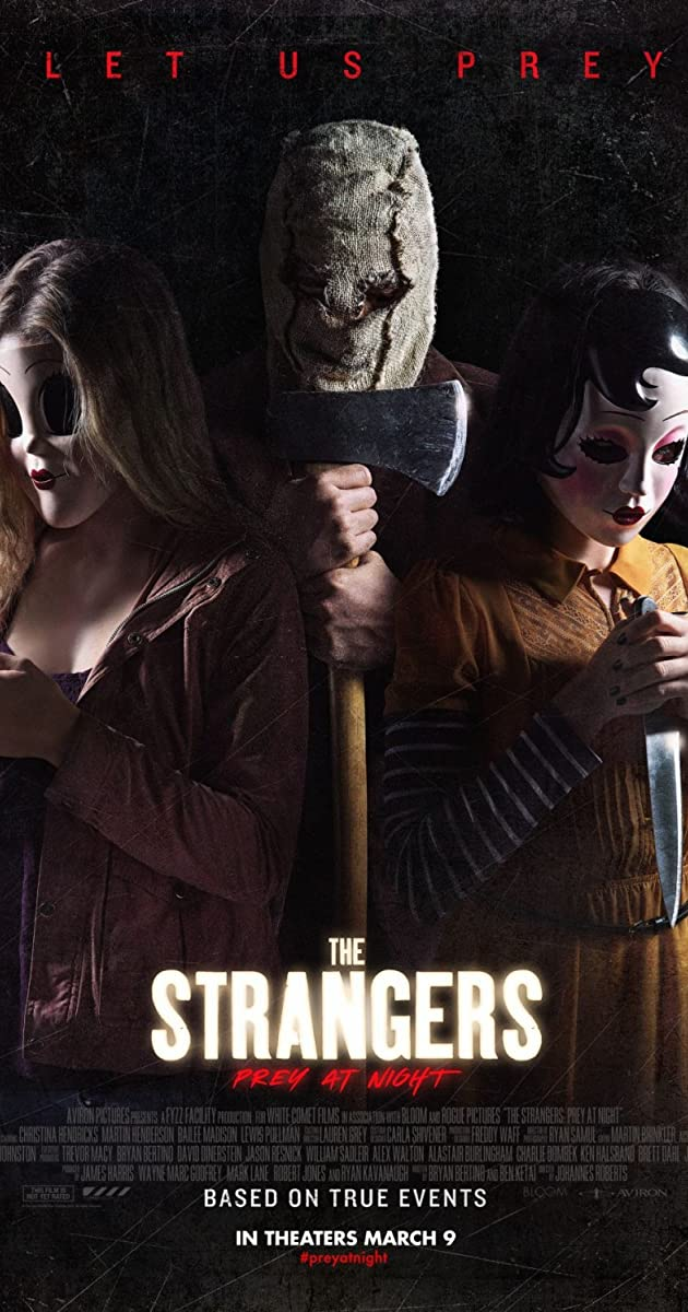 Nepažįstamieji: nakties grobis / The Strangers: Prey at Night (2018)