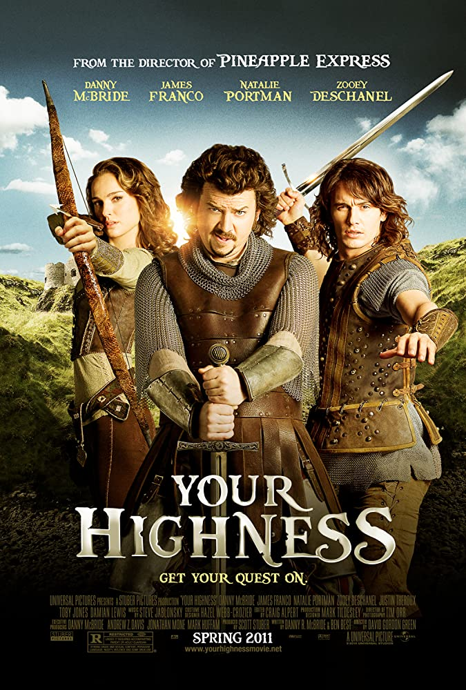 Your Highness (2011) UNRATED Dual Audio 720p BluRay x264 [Hindi + English] ESubs