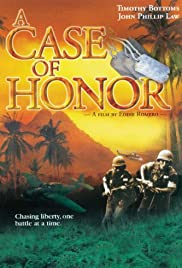 A Case of Honor Poster
