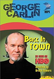 George Carlin: Back in Town (1996) Poster - TV Show Forum, Cast, Reviews
