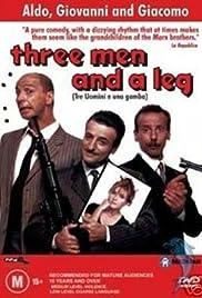 Tre uomini e una gamba(1997) Poster - Movie Forum, Cast, Reviews