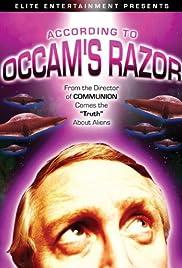 According to Occam's Razor Poster
