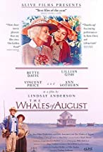 Primary image for The Whales of August