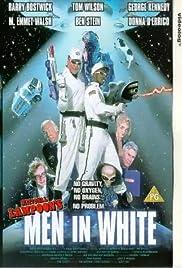 Men in White Poster