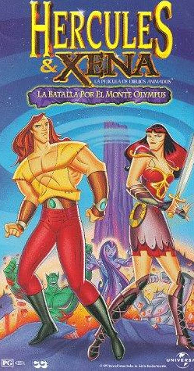Hercules And Xena The Animated Movie The Battle For