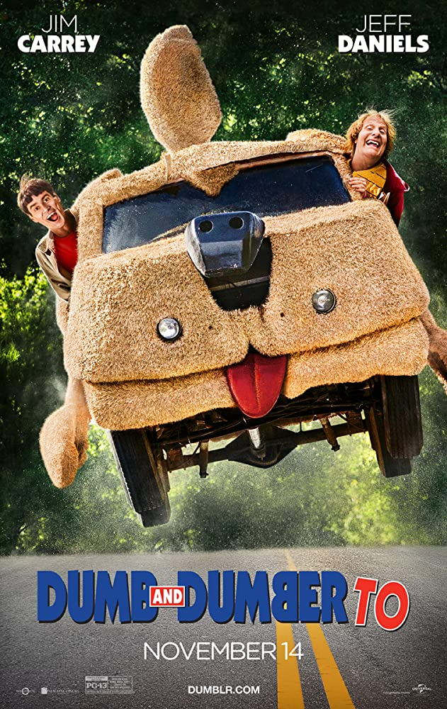 Dumb and Dumber To 2014 dual audio Movie 350MB