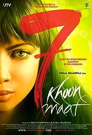 7 Khoon Maaf(2011) Poster - Movie Forum, Cast, Reviews