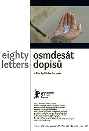 Osmdesát dopisu Poster