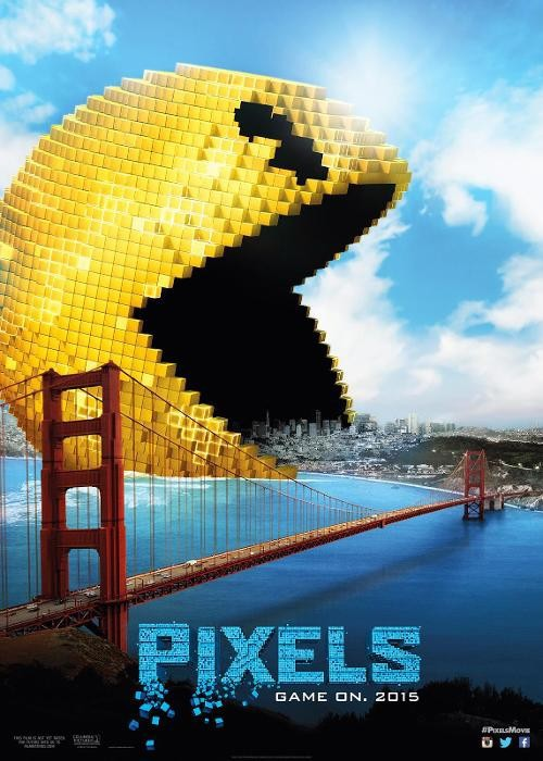 Pixels 2015 Dual Audio Movie 333MB