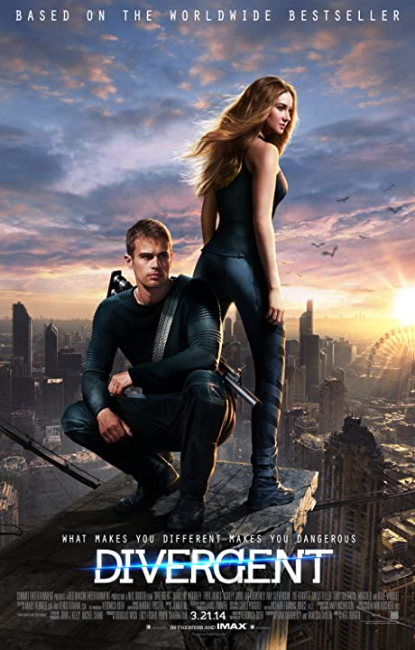 Shailene Woodley and Theo James in Divergent (2014) Dual Audio Hollywood full Movie Watch Online Download