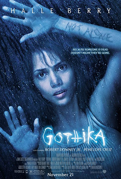 Poster Of  Gothika (2003)  Full Movie Download 300MB In Hindi English Dual Audio 720P Compressed Small Size Pc Movie at movies365.in