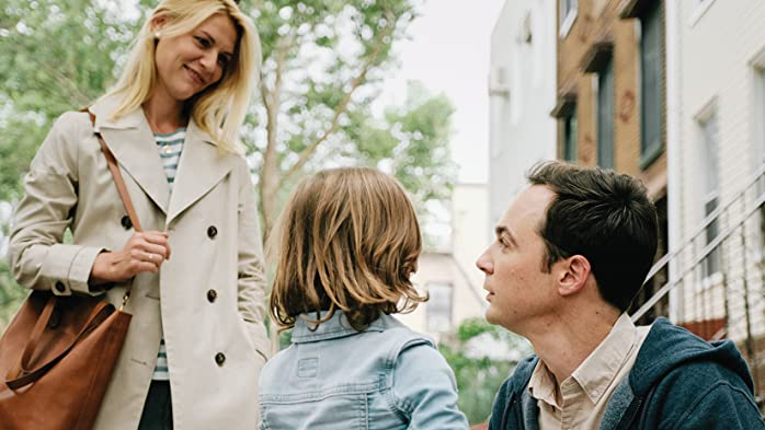 Claire Danes, Jim Parsons, and Leo James Davis in A Kid Like Jake (2018)