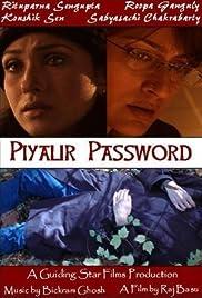 Piyalir Password Poster