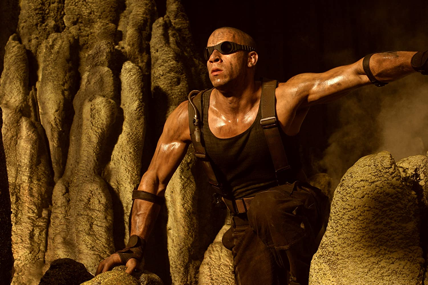 Vin Diesel in The Chronicles of Riddick (2004)