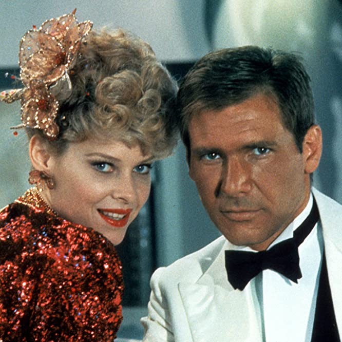 Harrison Ford and Kate Capshaw in Indiana Jones and the Temple of Doom (1984)