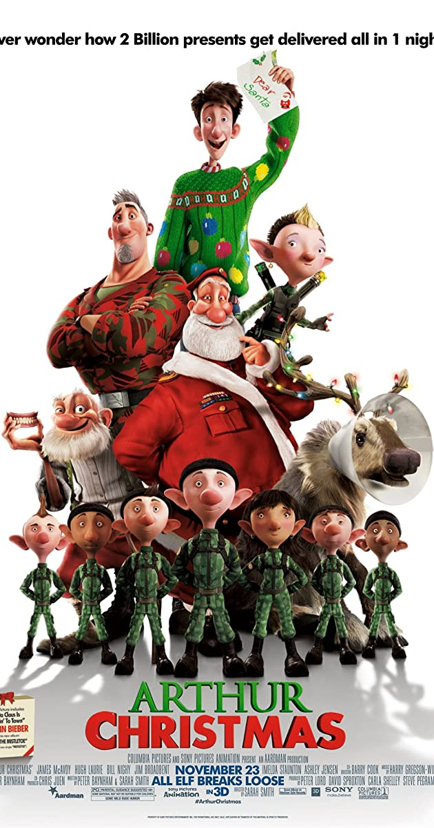 arthur christmas 2011 plot keywords imdb - Christmas Eve Imdb