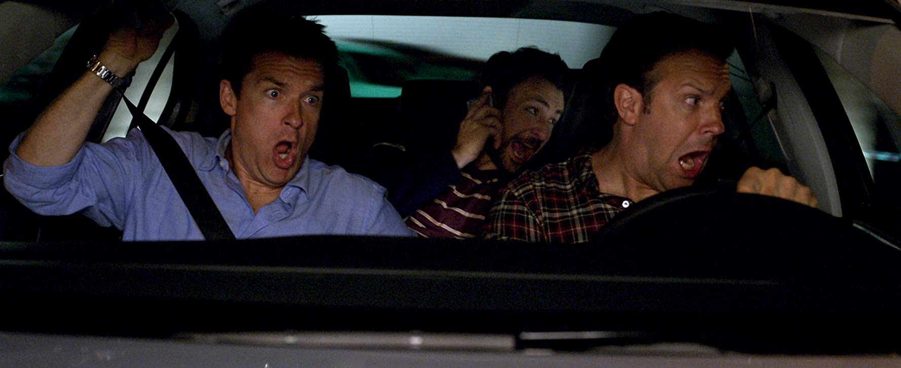Jason Bateman, Charlie Day, and Jason Sudeikis in Horrible Bosses (2011)