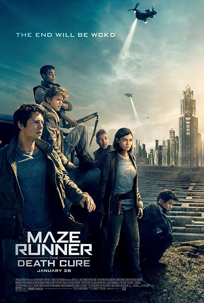 Maze Runner: The Death Cure (2018) Hindi Dubbed Movie