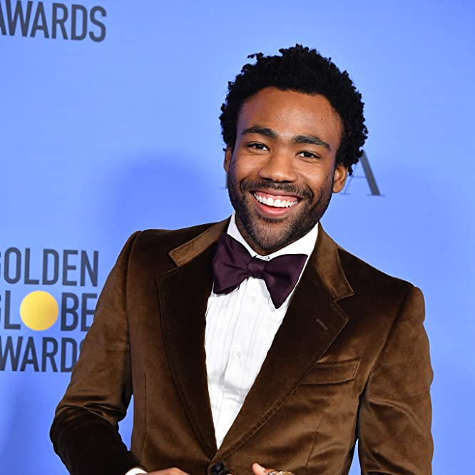 Donald Glover at an event for The 74th Golden Globe Awards (2017)