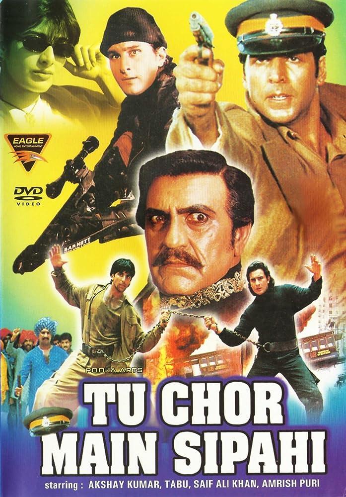 Tu Chor Main Sipahi 1996 Hindi 720p HDRip x264 1.2GB