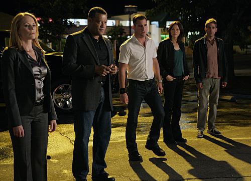 CSI- Catherine, Langston, Nick, Sara, Sanders,