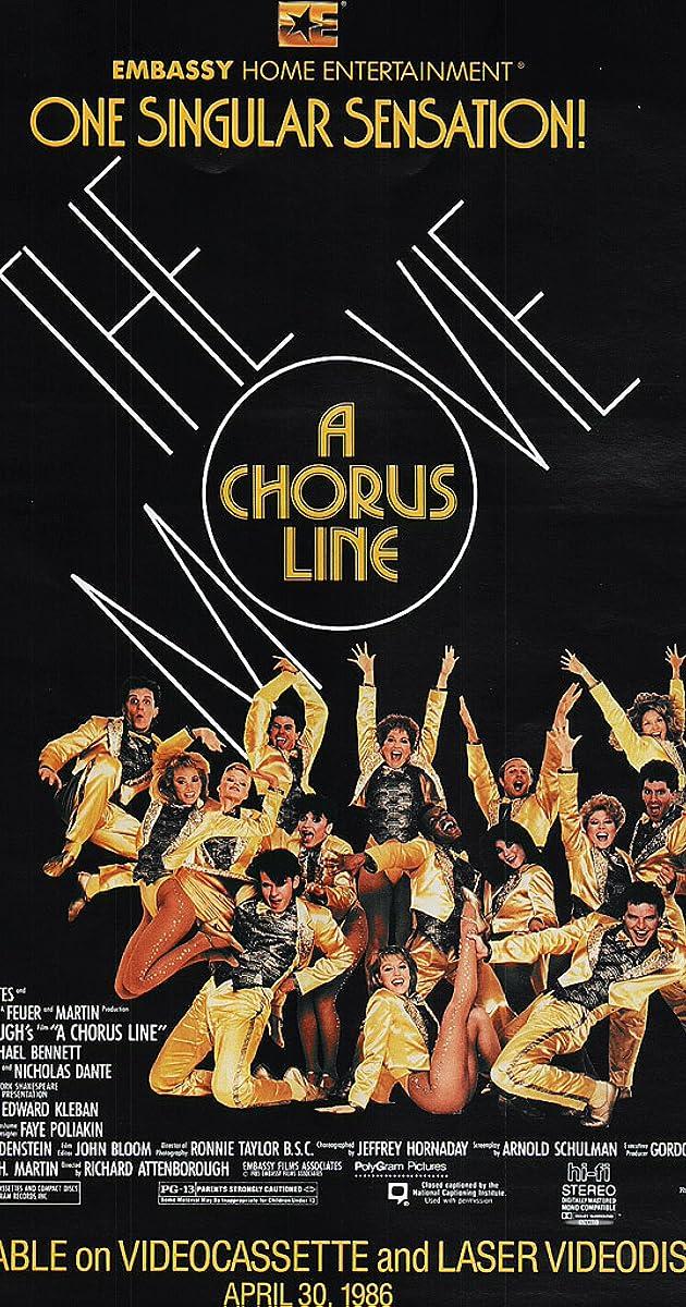 A Chorus Line (1985) - IMDb