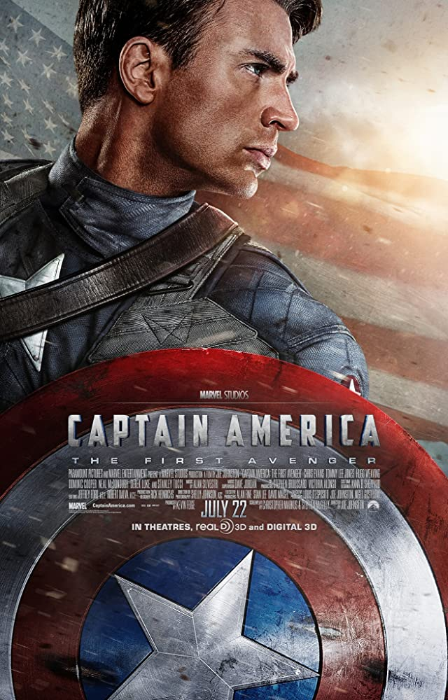 Captain America The First Avenger 2011 ORG Hindi Dual Audio 600MB BluRay 720p HEVC x265